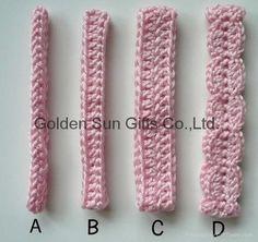 crochet flower headband tutorial - Google Search