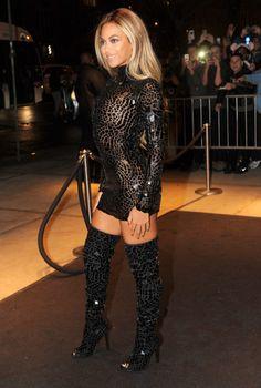 Beyoncé in NYC.