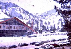 The 1960 Olympic Winter Games brought commerce and infrastructure to the Lake Tahoe Area, turning a former summer vacation town into a renowned winter destination and transforming Squaw Valley, a small ski mountain with one chairlift and lodging for fifty, into a world-class ski resort.