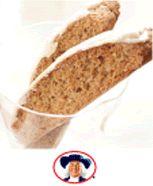 Coconut-Oatmeal Biscotti - Recipe | http://www.quakeroats.com/