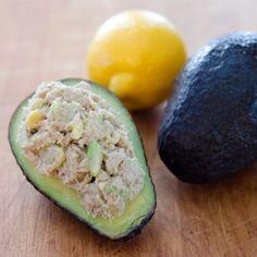 PALEO AVOCADO TUNA SALAD bet it would be good with chicken too. All about chicken/tuna salad and avocados