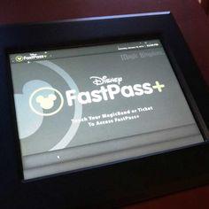 FastPass+ at Disney's Magic Kingdom.