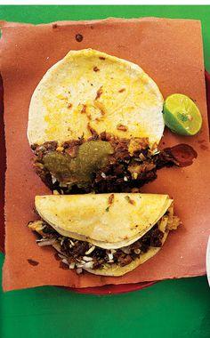 Carne asada tacos!