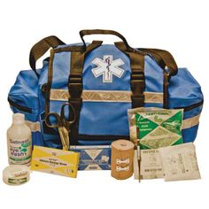 EMS EMT Paramedic  Jump Bags Always Stocked and Ready