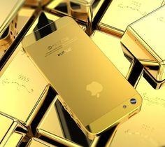 Golden iPhone 5 Housing – $120