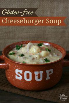 Cheeseburger Soup {Gluten-free}