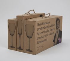 Hello Winelovers! - The shape of each wine box/type is unique.