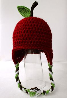 Ravelry: Apple Hat pattern by Micah Makes