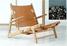 HUNTING CHAIR BY BORGE MOGENSEN.