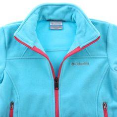 Columbia Girls Fast Trek Full Zip Fleece Jacket | Overstock.com Shopping - The Best Deals on Girls' Outerwear $23
