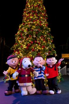 Knott's Merry Farm with the Peanuts Gang