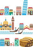 EPS Vector of Italian landmarks - Italy - landmarks and attractions csp4131084 - Search Clip Art, Illustration, Drawings and Clipart Vector ...