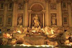 honeymoon, dream come true, fountains, rome italy, coin, dream destinations, aquamarines, place, trevi fountain