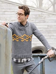 Ravelry: Charlie Sweater pattern by Ann Weaver