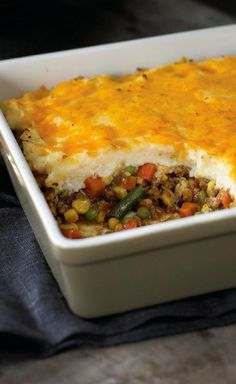Easy Shepherds Pie Theres easy as pie, and then theres easy as this potato-topped shepherds pie. It can be on the table, piping hot and delicious, in just 40 minutes.