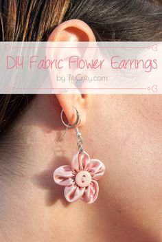 DIY Fabric Flower Ea