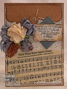 """""""Turn Your Eyes Upon Jesus"""""""