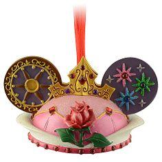 Ear Hat Aurora Ornament - Front