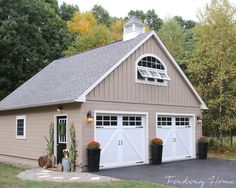 Garage Entry Fall Makeover - Finding Home