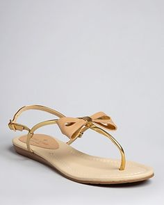kate spade - bow sandals