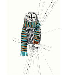 owl by Ellen-Kirstine Hansen