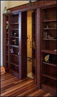 secret bookcase door