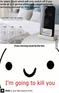 It would be like this every morning