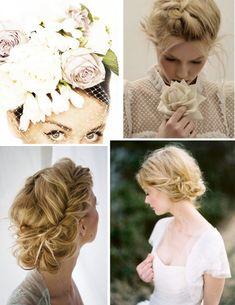 DIY wedding hair tutorials bridal beauty // OneWed