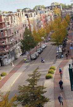 South Jan Pieter Heijestraat - Amsterdam, Netherlands
