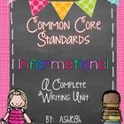 This is a 6-week unit that is broken down to day by day lessons. Each lesson contains directions for a mini lesson, independent work time, and closing. There is also an additional handout or guided practice activity for each of the lessons.  You'll also find rubrics, monthly layout, suggested mentor texts, grammar integration with mentor sentences, and more! $
