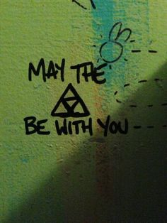 May the tri force be with you