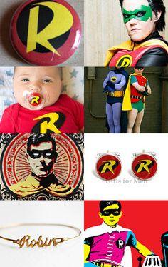 Robin Boy Wonder --Pinned with TreasuryPin.com