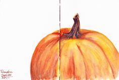 fall sketchbook idea