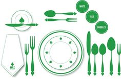 Table Settings 101 #tablesettings #101 #wedding #party #planning
