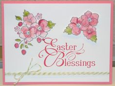 Stampin Up Rose Floral Easter 1
