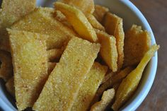 Cooke's Frontier: Homemade Fritos! - I am really missing Frito's right now. Just looked on Amazon.uk. at 8 pounds a bag I will have to try and make some on my own!