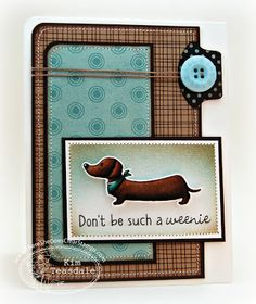 Cutes doxie stamp set EVER!