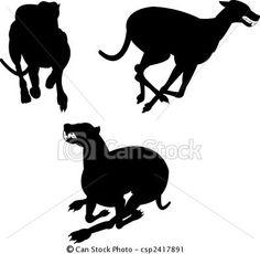 greyhound clipart
