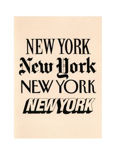 NY print logos. Would love to find the source of this. Anyone have any leads? (Google Images detection is failing me).