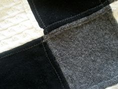 fiberluscious: My Upcycled Warm Wool Lap Quilt