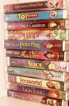 Disney on VHS..will always be better than disney on DVD