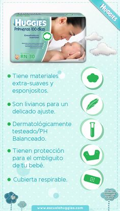 ¿Conocías todos estos beneficios de #Huggies Primeros 100 días? Compártelos. http://www.productos.huggiesla.com/Recien-Nacido.aspx