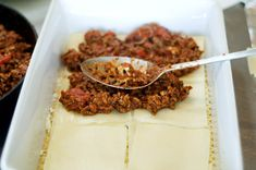 """""""Best Ever Lasagna Recipe"""" from @Ree Drummond   The Pioneer Woman #recipe"""