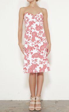 Nanette Lepore -  Red And White Dress