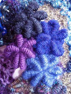- crochet bullion stitch