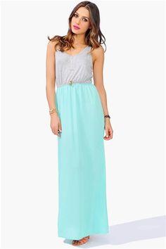Summer Nights Dress - Mint