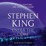 """Reading """"Under the Dome"""" by Stephen King  Excellent storyline and the word master of all time has done it again. Sentence construction is superb with detailed nuance everywhere."""