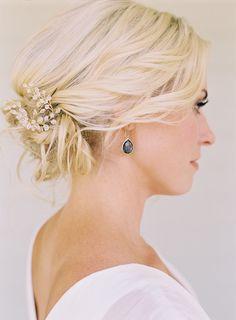 hair pieces, bridal hairstyles, simple weddings, messy buns, bridal party hair, wedding hair styles, wedding hairstyles, updo, formal hair