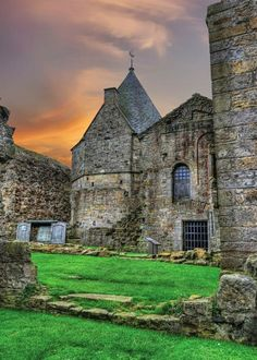 Inchcolm Abbey, Scotland.