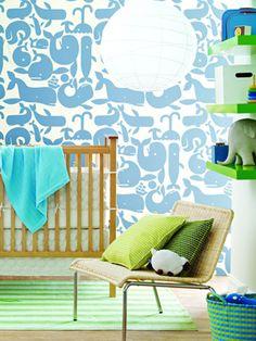 wall art idea for a nursery